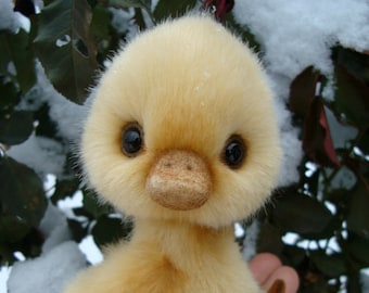 Teddy duckling. Make to order.