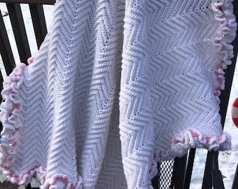 Baby Afghan handmade. Baby Girl Afghan. Baby Afghan. Baby Shower. Crochet Baby Afghan. Baby Easter gifts. Baby Blanket. Baby Afghan Girl.