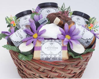 spa gift set spa gift basket birthday gift basket bridal gift basket baby shower gift gift for mom gift for her personalized gift