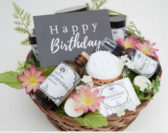 Birthday Gift Basket Bestfriend Spa For Her Gifts Ideas