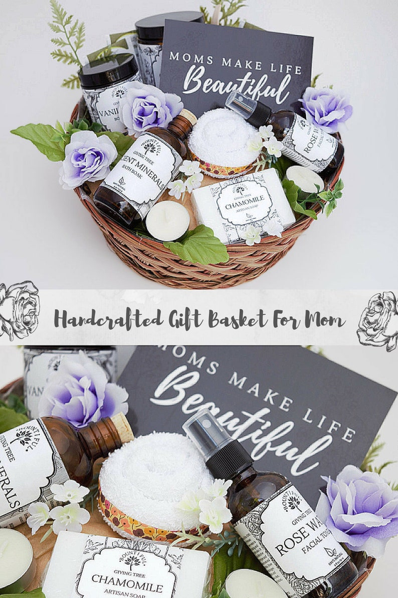 All Natural Pregnancy Gift Basket New Mom Baby Birthday