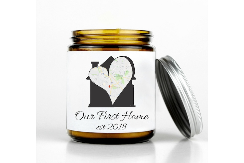 New Homeowner Gift Our First Home Map 1st Home Gift Ideas Etsy