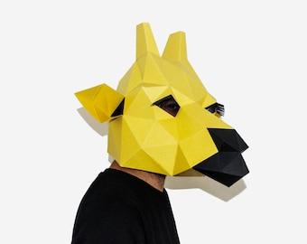 a2fbc2c595 Downloadable DIY Paper Masks and Paper Craft by LapaStudios