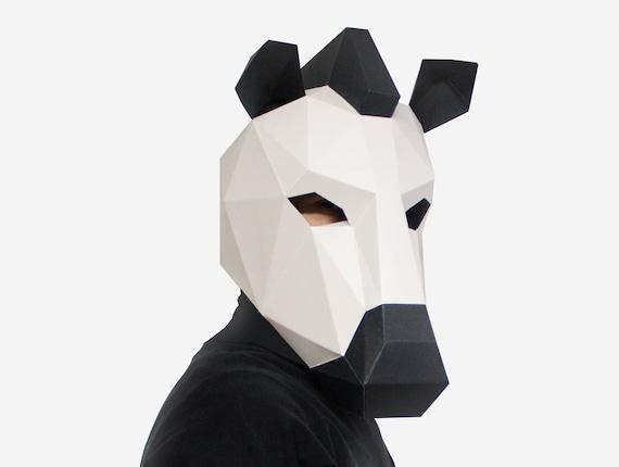 Zebra Mask Paper Animal DIY Printable
