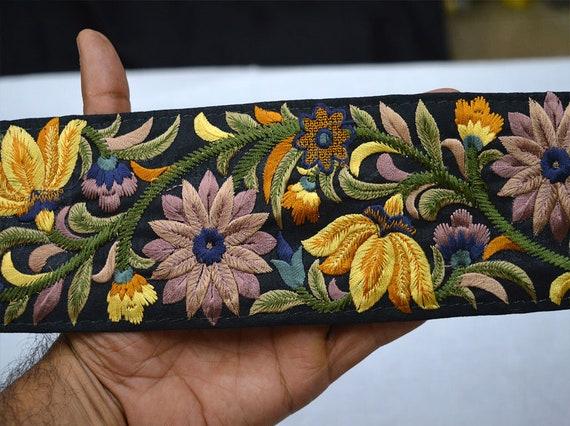 Fancy nupcial Ribete de Encaje cinta de costura en artesanía boda fiesta o frontera Sari
