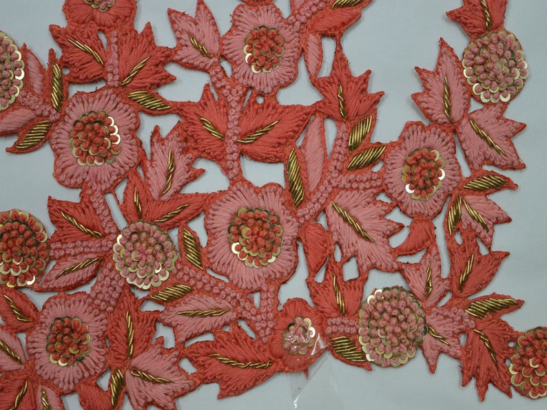 Applique cutwork handmade cotton multi bedsheet vinayak