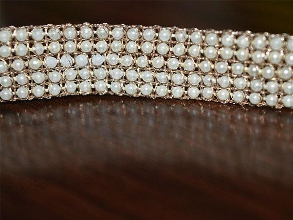 Beaded Pearl Lace Trim Sari Border Lace Wedding Lehenga | Etsy