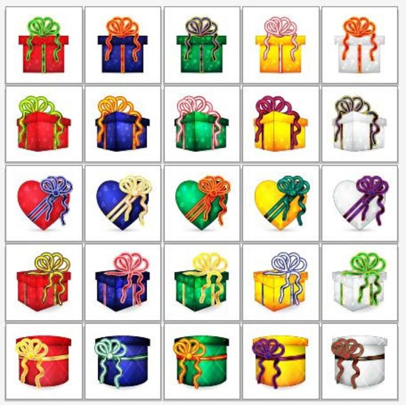 Weihnachtsgeschenke Clipart.25 Verpackte Weihnachtsgeschenke Clipart