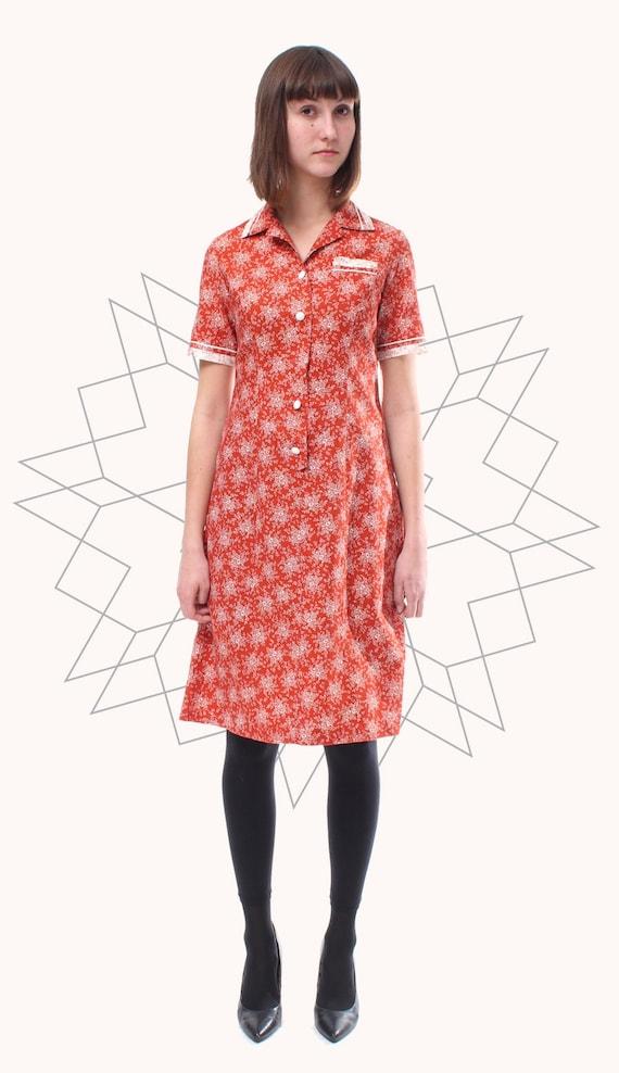 36/ 60S VINTAGE FLOWER dress