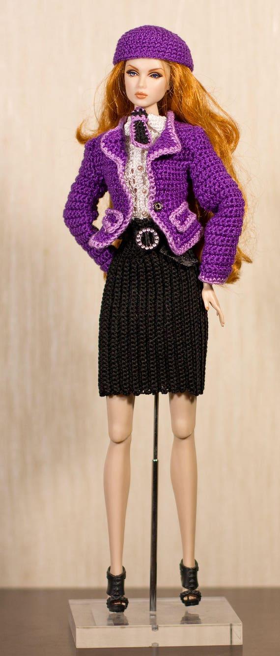 Barbie Kleidung Barbie Häkeln Handarbeit Gesetzt Für Fashion Etsy