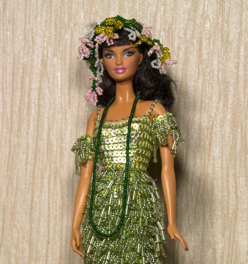 Vestiti Barbie Barbie Alluncinetto Fatti A Mano Etsy