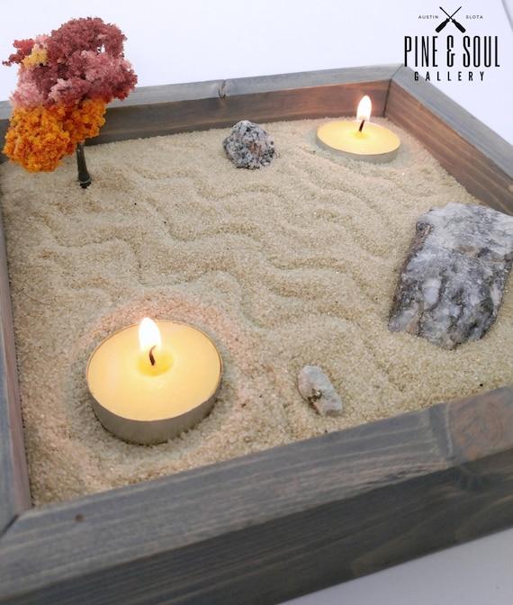 Diy Zen Garden Pack Therapeutic Sand Box Rock Garden