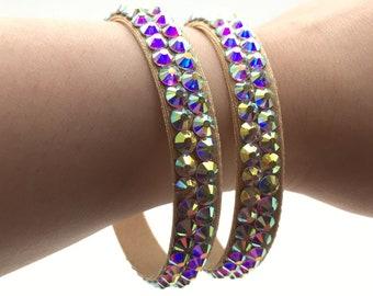 Rhinestone Bracelet, Ballroom Jewelry, ballroom accessories, Ballroom Bracelet, belly dance jewelry, ballroom dance jewelry, Dance bracelet