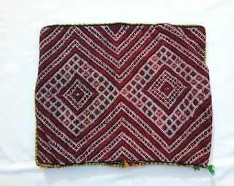 Vintage berber pillow CASE , Decorative pillow, handmade moroccan pillow