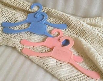 4 Prog-Doll Hangers, 1950s Vintage