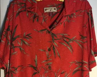 f4e90005 Caribbean Joe Women's Hawaiian Shirt
