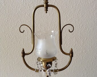 antique gas lamp etsy