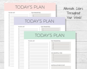 daily planner printable todays plan daily schedule daily to do list elegant planning daily organizer planner download simple