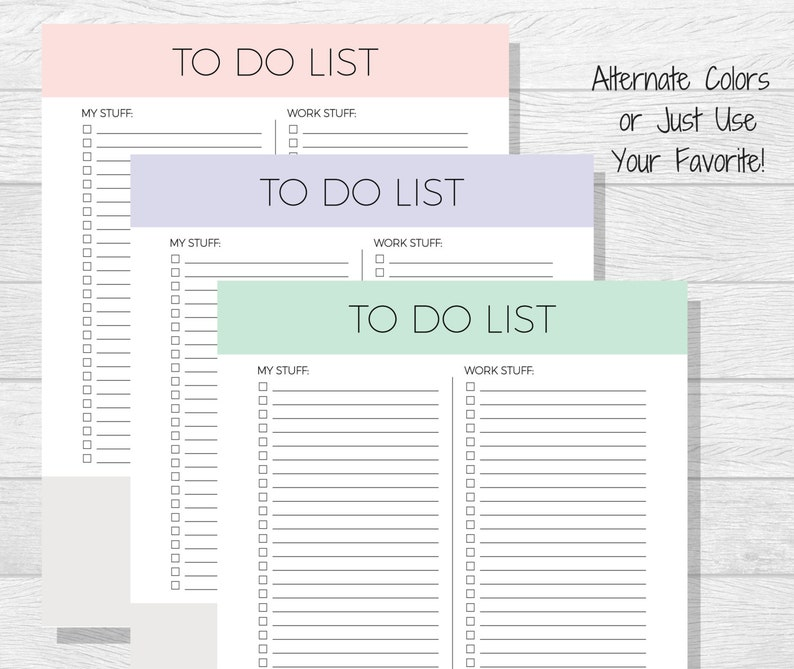 photograph relating to Daily to Do List Printable known as In direction of Do Record Printable - Every day Toward Do Listing - Everyday Organizer - Every day Timetable - Every day Towards Do - Towards-Do Listing - Planner Printable - Every day Planner