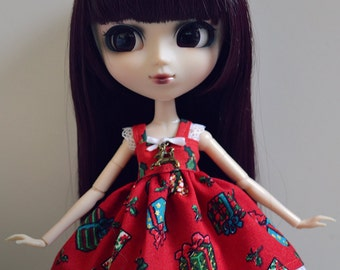 Pullip/Hujoo - dress Christmas 2