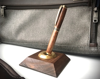 Hand Turned Fountain Pen - Various Hardwoods Available