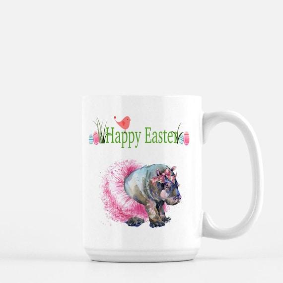 Easter Fiona Hippo Mug