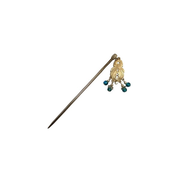 Vintage Chinese Hairpin | Hair Jewelry | Art Deco
