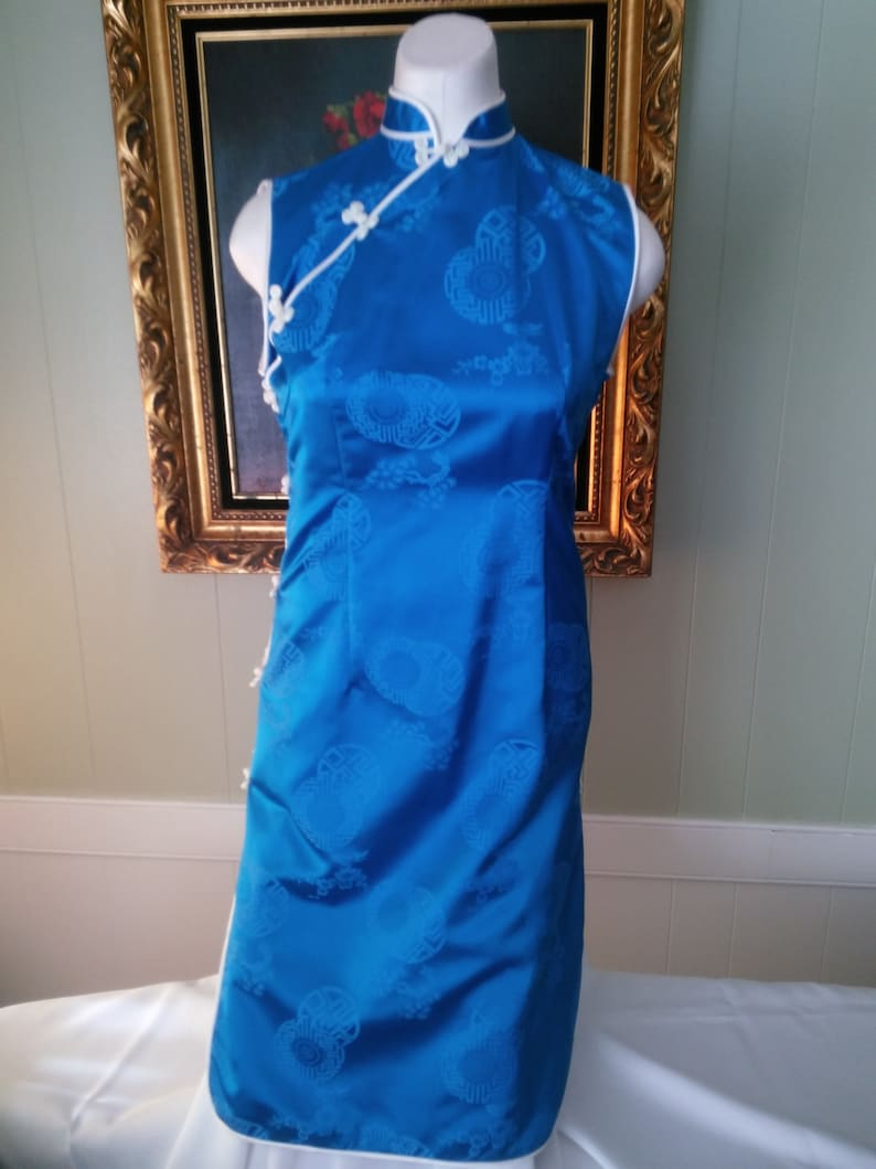 Suzy Wong Dress Custom Made in Hong Kong