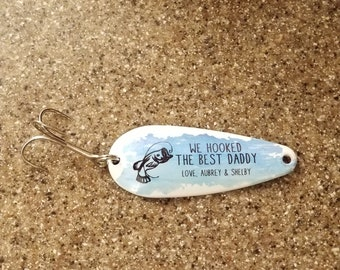Custom fishing lure | Etsy