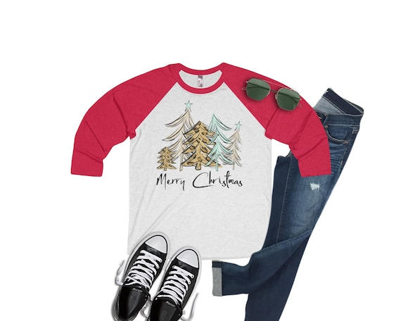 Do It Yourself Christmas Shirts.Merry Christmas Leopard Tree Christmas Shirt Have Yourself A Merry Little Christmas Raglan Xmas Shirt Holiday Shirt