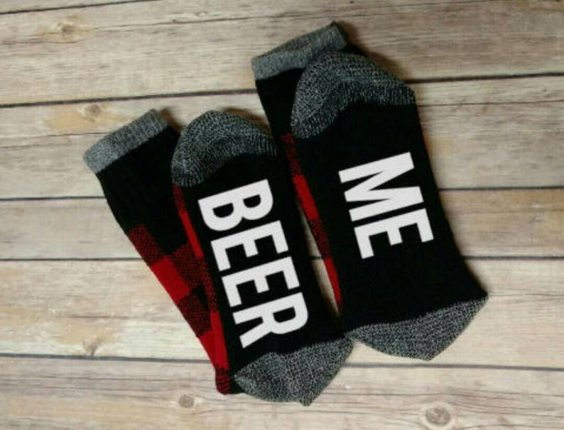 personalized socks Christmas present Gift for him Wine Socks Valentine/'s Day gift Father/'s  day gift Fathers day gift gift for dad