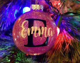 Weihnachten, Christbaumkugel, personalisierte Christbaumkugel, Urlaub, Urlaub Ornament, Christbaumschmuck, Weihnachtsbaumkugeln