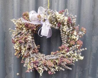 Lavender & herb wreath