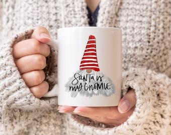 Merry Christmas Gnome Mug