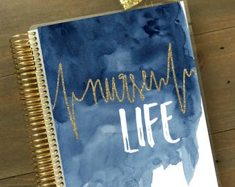 Original Stylish Planner™ Cover Set - Nurse Life: For use with Erin Condren Life Planner(TM), Happy Planner and Recollections Planner