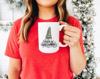 Santa is my Gnomie Mug - Gnomes