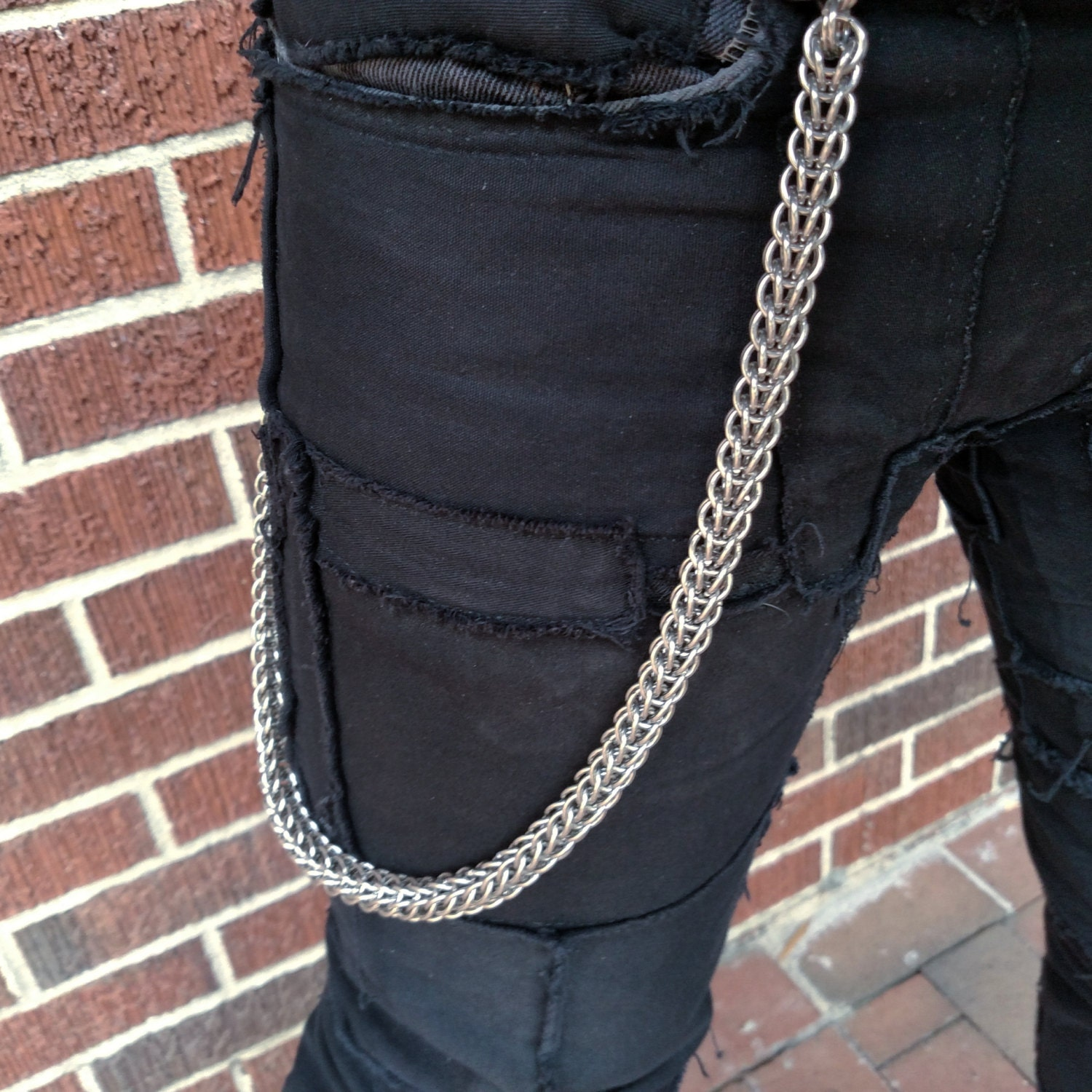 Full Persian Chainmail Wallet Chain Etsy