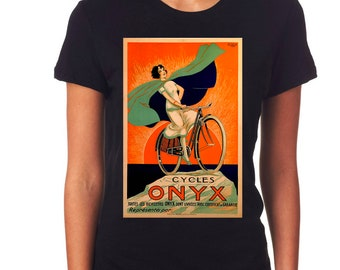 Bold Brilliant Sunset Sets The Scene For This 1925 Onyx Bicycle Poster