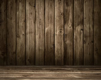 345629d4b15845 Grey Wood Backdrop - Old Wood Wall And Floor - Printed Fabric Photography  Background G1530