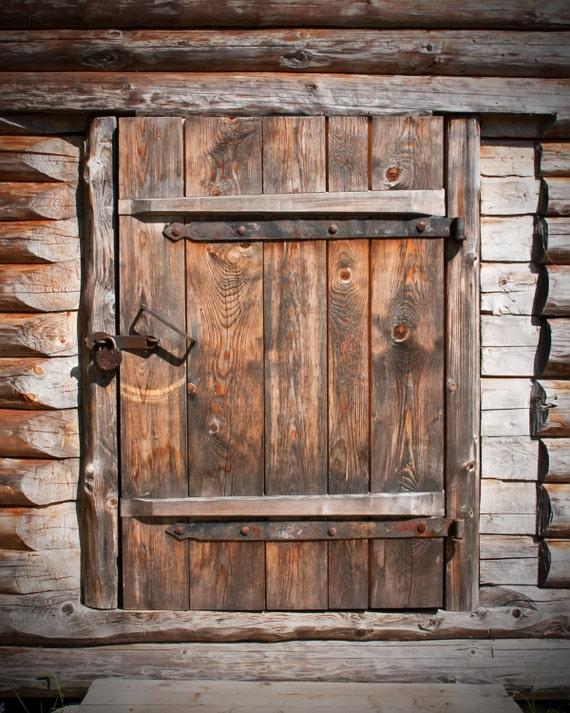 Old Wood Door Backdrop Rustic Barn Door Printed Fabric Etsy