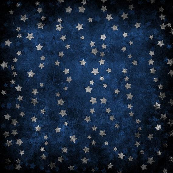 Vintage Star Backdrop weathered star wallpaper Printed