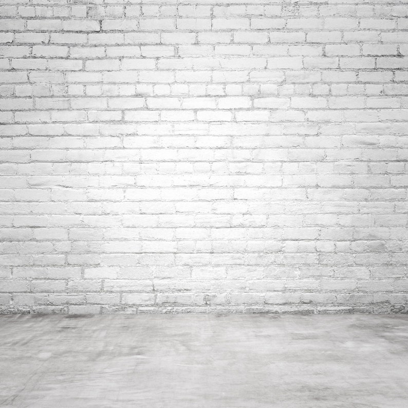 Concrete Wall Fabric Photography White G0707 Floor Backdrop Brick With Printed Background CxodrBe