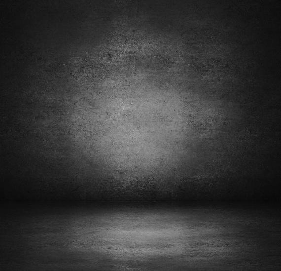 Dark Concrete Wall Backdrop Dark Room Cement Wall Printed