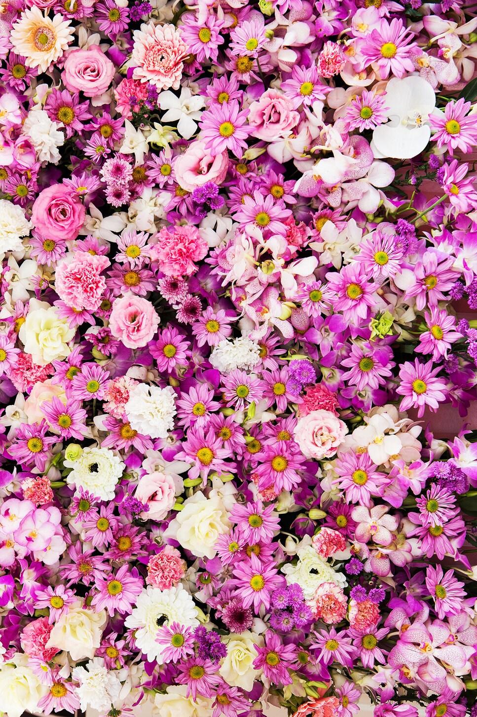Sunflower Backdrop Chrysanthemum wedding romantic scene | Etsy