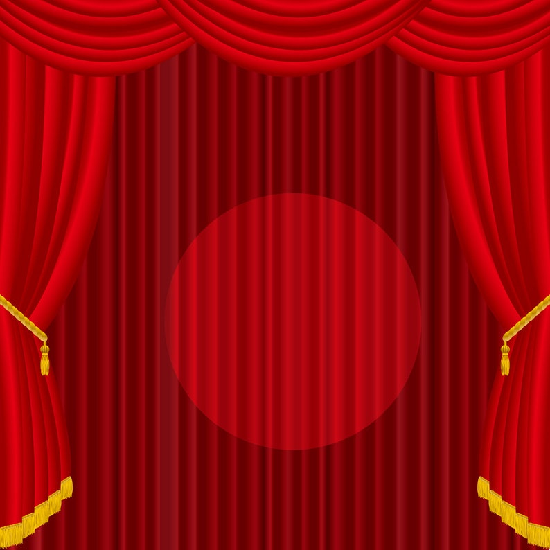 Red Curtain Photo Backdrop The Curtain Galleries