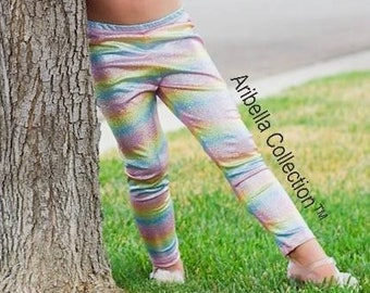 9f4e58a9bc7 Unicorn Leggings Girls Toddler Baby Kids Rainbow Birthday Party Outfit Gift  Pants Sparkly Costume Theme Photo Shoot Lover READY TO SHIP