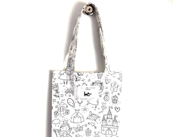 """Tote-bags """"A colorier"""""""