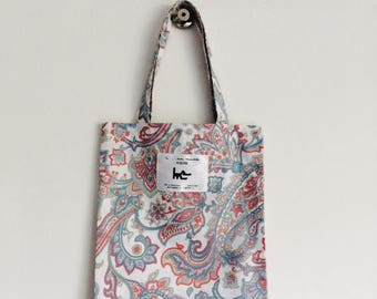 "Tote BAG for child L muse KIDS - ""Paisley"""
