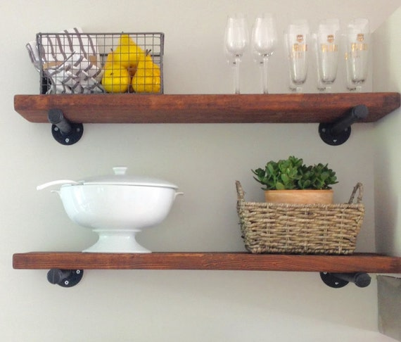 Rustic Extra Long 40 Deep Floating Shelf Industrial Etsy Beauteous Extra Deep Floating Shelves