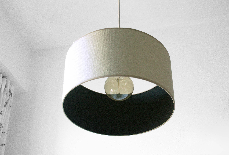 Burlap Lamp Shade Rustic Chandelier Pendant Light Farm Lighting Lighting Bar Light Kitchen Light Ceiling Light